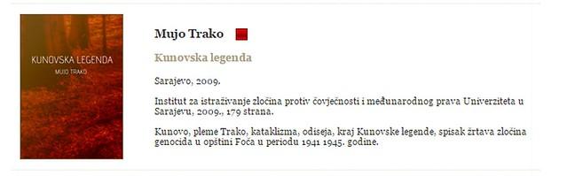 Kunovska legenda - Mujo Trako