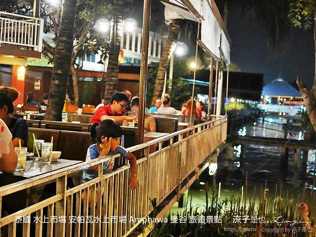 泰國 水上市場 安帕瓦水上市場 Amphawa 曼谷 旅遊景點 14