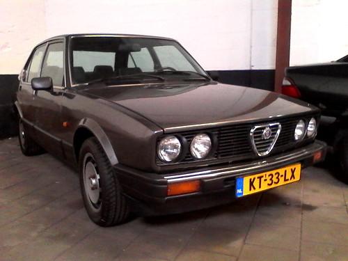 1984 Alfa Romeo Alfetta Quadrifoglio