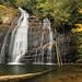 Helton Creek Falls, Helton Creek, Chattahoochee National Forest, Union County, Georgia 1 by Alan Cressler