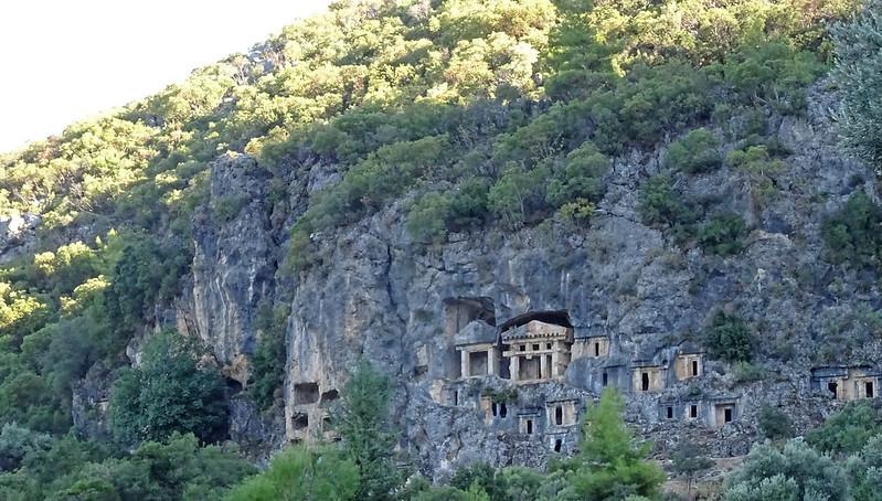 Pinara hillside