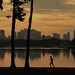 Jogger by Jurong Lake
