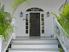 Key West Door with Fanlight