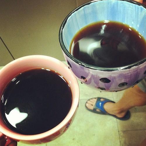 May 2: No coffee no prana. Morning ritual. #fmsphotoaday