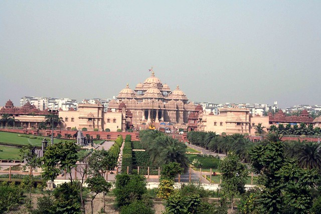 City Monument – Akshardham Mandir, Noida More