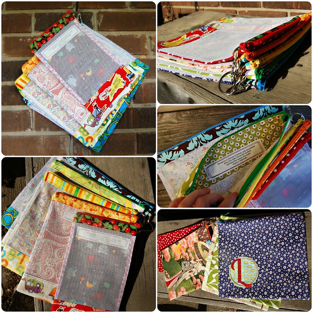 Scrappy Organizer Travel Bags