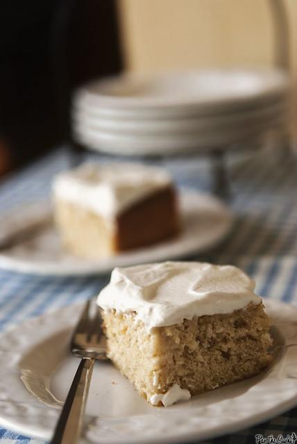 Tres Leches Cake via PasstheSushi.com