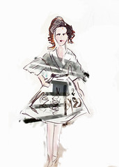 sketch, costume design, drawing, fashion illustration, cartoon, illustration,