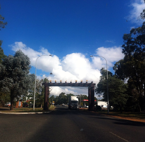 Manjimup - Entrance