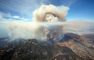 Camarillo wildfire