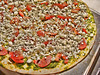 Pesto Feta & Tomato Pizza
