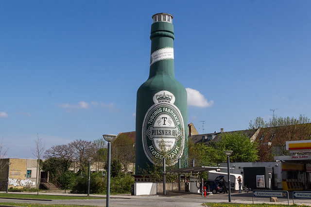 The Largest Tuborg in Copenhagen