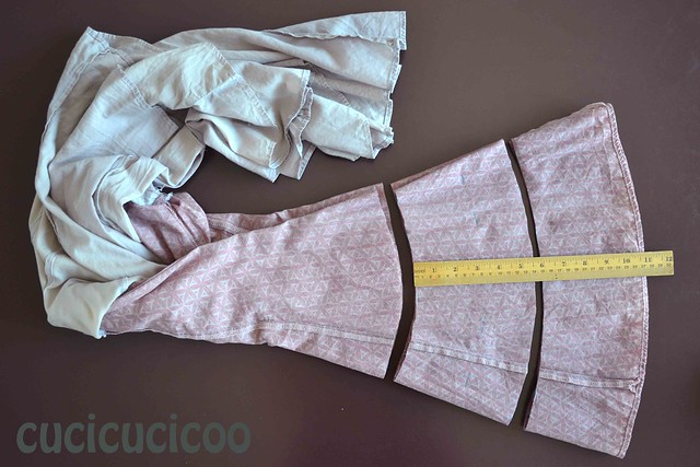 Pink Skirt + Ruffle
