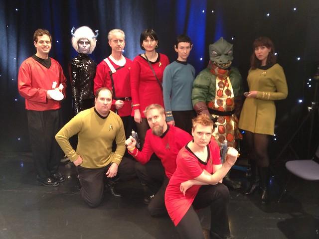 The Starfleet Crew