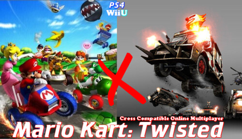 Mario Kart X Twisted Metal