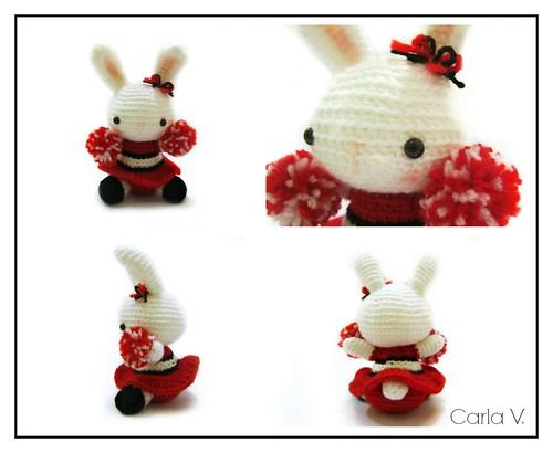 Cheerleader Bunny