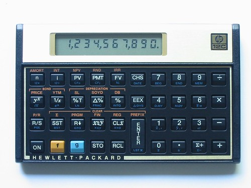 calculadora hp 12c clasica calculadora financiera