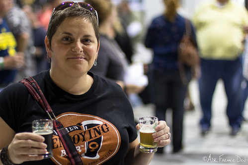 Woman Who Enjoys Beer (A Lot!)