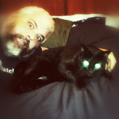 Laser cat eyes. by KeithSonic