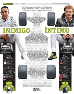 Metro SP / GP Brasil F1 - 2014