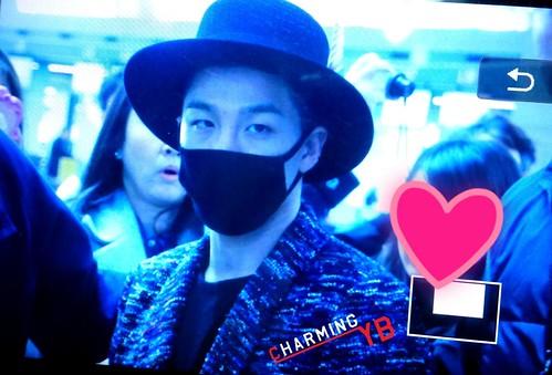 Big Bang - Incheon Airport - 21mar2015 - Tae Yang - charmingyb - 04