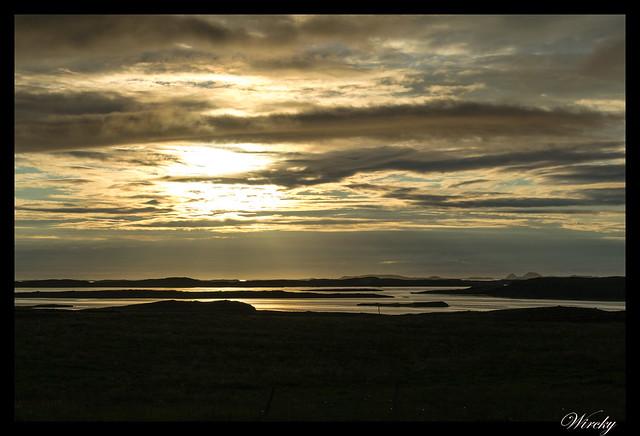 Islandia Myvatn Godafoss Akureyri Glaumbaer Vidimyrarkirkja Grundarfjordur - Islotes en fiordo Hvammsfjördur