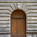 Small photo of Old door in Yerevan on Abovyan street