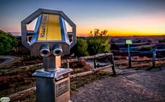 Sunset viewpoint Posbank