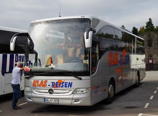 WW-KR-289 - Mercedes-Benz Tourismo - Klas - Reisen, Höhr-Grenzhausen, Westerwaldkreis, Germany.