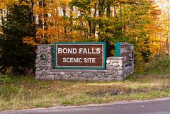 Michigan UP - Bond Falls Scenic Site