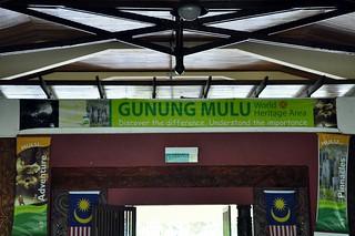 Sudah tiba di Mulu Airport
