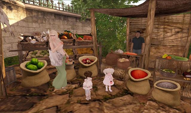 Dinner & Market Trip