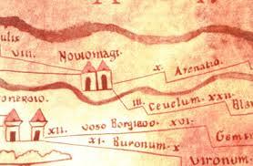 Ceuclum - Peutinger Map