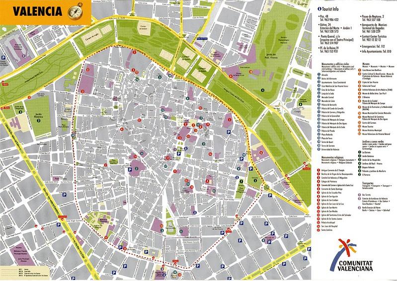 Mapa Centro Valencia