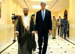 Secretary Kerry Meets With Omani Defense Minister Sayyid Badr al-Busaidi