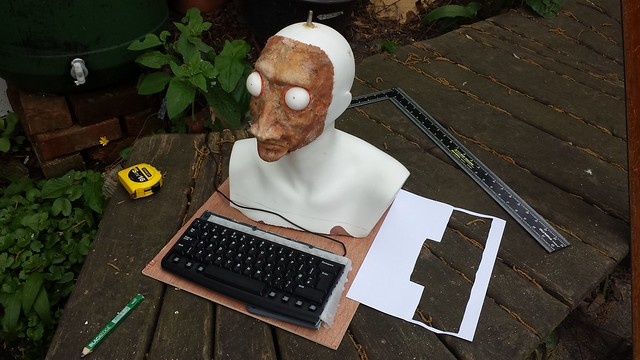 Measuring Fortune Teller keyboard mount