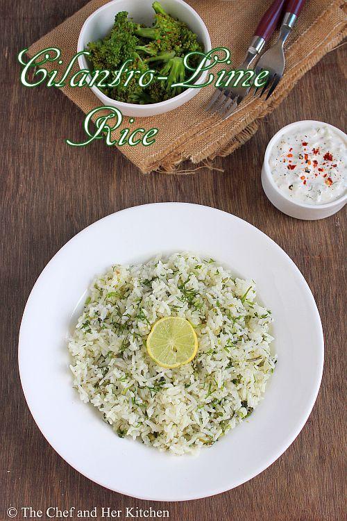 chipotle style cilantro lime rice