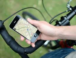 Cycling and mobile apps