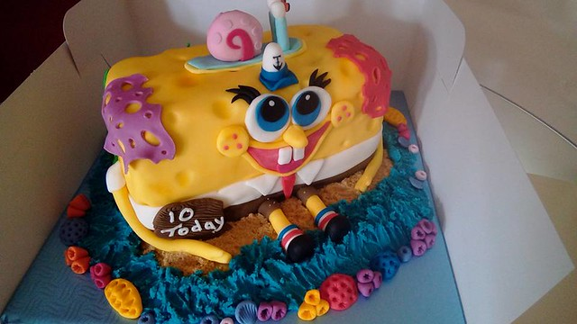 Spongebob Cake by Fiona Graham
