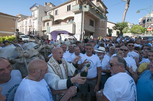 carro obelisco fontanarosa buoi funiprovinciadiavellino funi madonnadellassunta festa folclore sacro profano