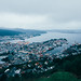Bergen, Norway - From Above