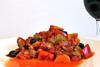 Red Pepper and Borlotti Bean Casserole