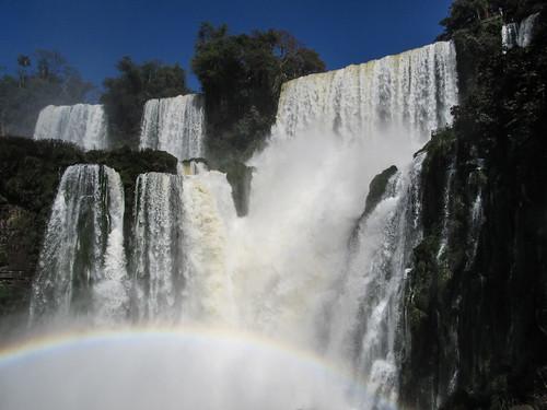 Les chutes d'Iguazu: la chute Bossetti et ses acolytes.