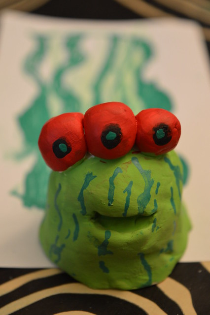 Clay - Slime Monster