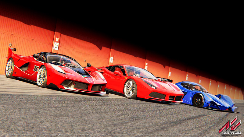 Assetto Corsa V1.8 Update and TRIPL3 pack