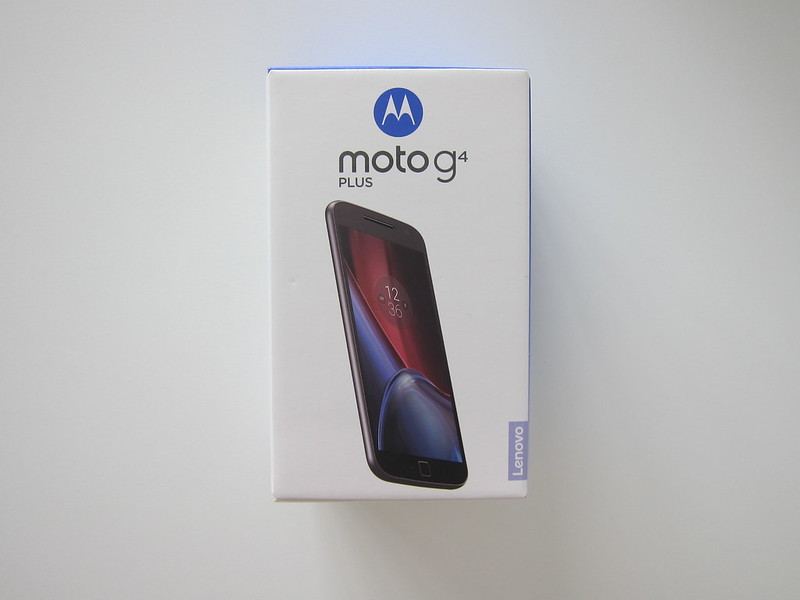 Moto G4 Plus - Box Front