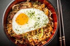 """Yakisoba from """"Tokyo Cult Recipes"""""""