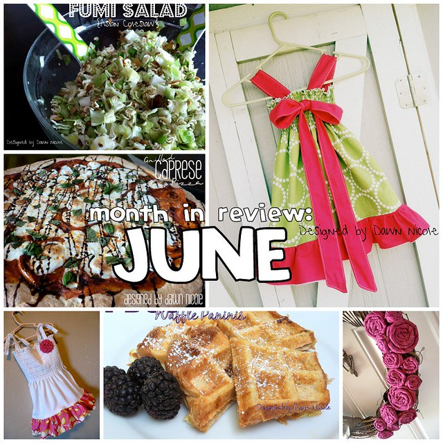 Month in Review: June's Tutorials
