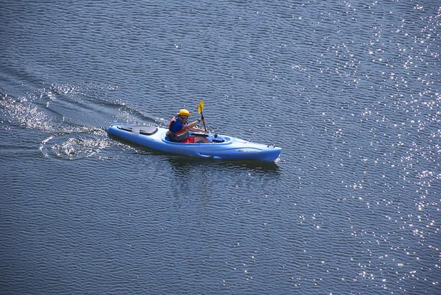 random kayaker