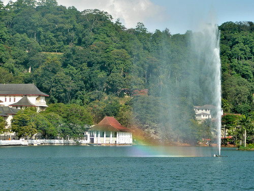 Kandy Lake Fountain